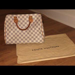 Authentic Louis Vuitton Bandoulière Speedy 30